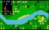 Chip Shot: Super Pro Golf Intellivision Don't fall short of the green and land in the water!