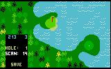 Chip Shot: Super Pro Golf Intellivision Editing a course
