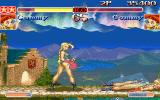 Super Street Fighter II Turbo DOS Enemy Cammy is happy