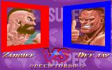 Super Street Fighter II Turbo DOS Zangief vs Dee Jay