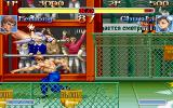 Super Street Fighter II Turbo DOS Fei Long vs Chun li