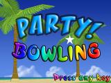 Party Bowling Windows Title screen