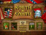 North & South: The Game Windows Main screen