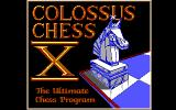 Colossus Chess X DOS Title Screen (EGA).