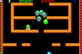 Bubble Bobble Old & New Game Boy Advance All enemies in bubbles