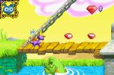 Spyro Orange: The Cortex Conspiracy Game Boy Advance On bridge