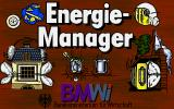 Energie-Manager DOS The title screen