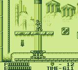 Castlevania II: Belmont's Revenge Game Boy Go to rope