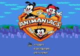 Animaniacs Genesis Title screen