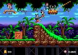 Animaniacs Genesis You need good timing for the platform jumping in the jungle.