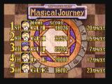 Magical Drop III Zeebo The high score table for the Magic Journey mode.
