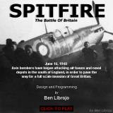 Spitfire: The Battle of Britain Browser Title shot.