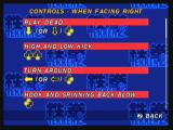 Tekken 2 Zeebo You can see the controls for the character you're using. Here we have the controls for Lei.