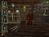 Might and Magic IX Windows Buying weapons