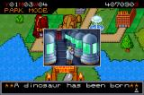 Jurassic Park III: Park Builder Game Boy Advance A new dinosaur!