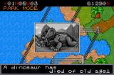 Jurassic Park III: Park Builder Game Boy Advance Oh, no!  Your dinosaur died!  Expect to see your dinosaurs dying from various causes throughout the game