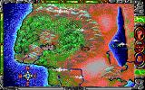 Conan: The Cimmerian DOS World map (EGA)