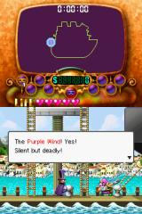 "Wario: Master of Disguise Nintendo DS Wario decides to call himself ""The Purple Wind."""