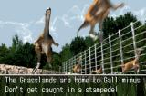 Jurassic Park III: The DNA Factor Game Boy Advance Before starting a stage, you are shown some information about the stage