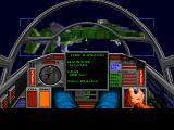 Wing Commander 1+2 Windows WC2 - Preparing to dock on the battleship.