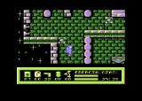 Around the Planet Atari 8-bit Star protected by cannons