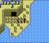 Paladin's Quest SNES Walking along the shore