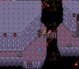 Paladin's Quest SNES Inside a cave