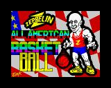 All American Basketball ZX Spectrum Loading screen