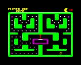 Classic Muncher ZX Spectrum Oh for pete's sake Pac-Man I only just got to level 3 as well!  Now it's game over!