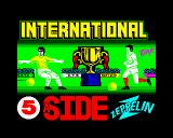 International 5-A-Side ZX Spectrum Loading screen