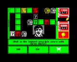Emlyn Hughes Arcade Quiz ZX Spectrum WHAT??  180 IS the highest score in three darts!  It's a fix I say!  A SCANDAL!