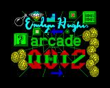 Emlyn Hughes Arcade Quiz ZX Spectrum Loading screen