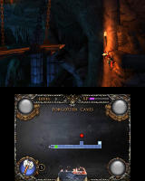 Castlevania: Lords of Shadow - Mirror of Fate Nintendo 3DS Platforming at the Forgotten Caves...