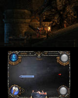 Castlevania: Lords of Shadow - Mirror of Fate Nintendo 3DS These rocks look... alive?!