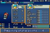 Shining Soul Game Boy Advance When you level up, you can place points in your stats and in your weapon skills