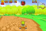 Shrek: Swamp Kart Speedway Game Boy Advance Racing around the track is similar to other Kart games