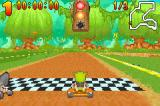 "Shrek: Swamp Kart Speedway Game Boy Advance The starting ""lights"" are bugs that are like colored fireflies"