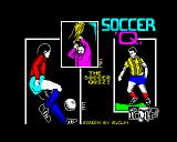 Soccer Quiz ZX Spectrum Loading screen
