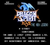 Dragon Spirit NES Start your adventure here, in the past