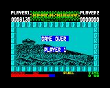 Beach Buggy Simulator ZX Spectrum Game over