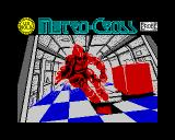 Metro Cross ZX Spectrum Loading screen