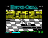 Metro Cross ZX Spectrum Now cubes are my concern