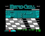 Metro Cross ZX Spectrum And jump over these platforms as they will slow you down