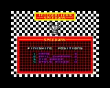 International Speedway ZX Spectrum YEAH!  Hans won a race!