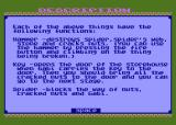 Gabi / Kuadryk Atari 8-bit In game instructions