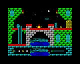 Spooky Castle ZX Spectrum Keys need to be collected for progression