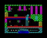 Spooky Castle ZX Spectrum Just managed to avoid that ghost in the nick of time!