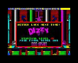 Dizzy Panic ZX Spectrum Game Over Dizzy