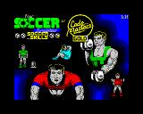 4 Soccer Simulators ZX Spectrum Soccer Skills loading screen