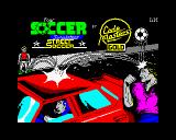 4 Soccer Simulators ZX Spectrum Street Soccer loading screen